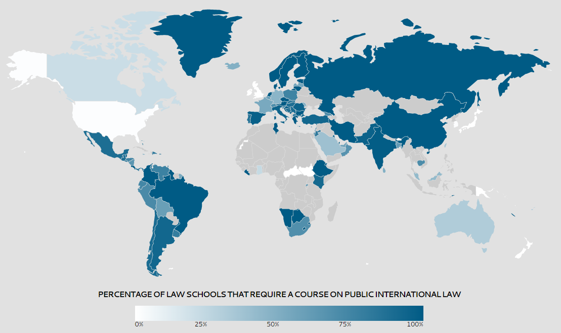 Map of Who Studies Int Law