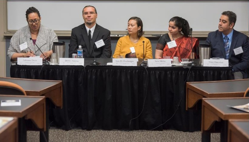 Professor Harpalani  spoke on the panel  'Understanding Color Distinctions in Asia'