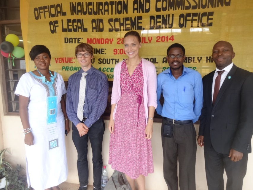 Observations at the Ghana's High Court in Accra