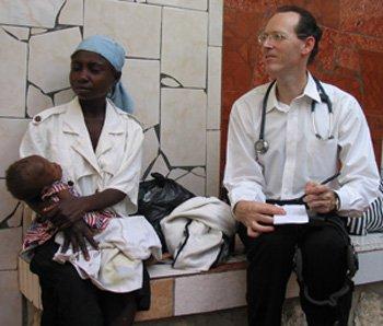 Paul Farmer at Clinic