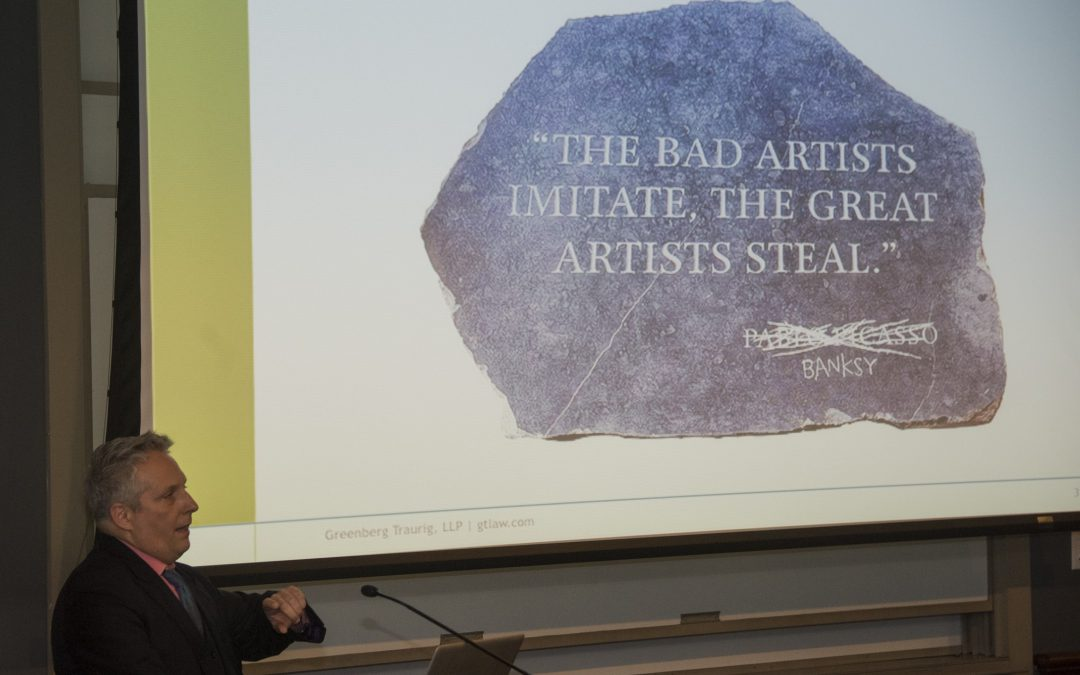 """What's Fair: Street Art, Appropriation Art, and the Law"": A Talk by Kevin Ray"