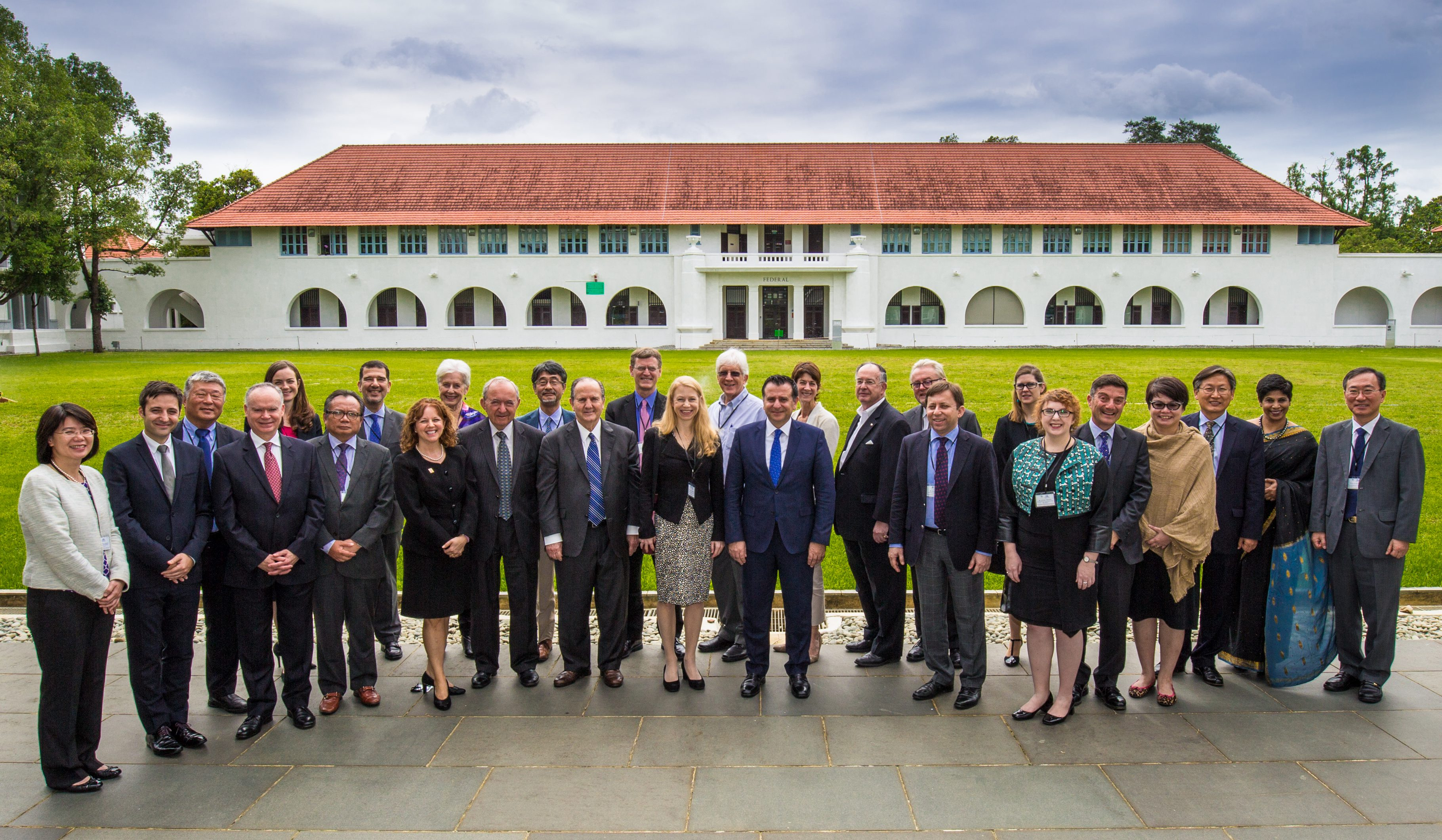 Experts meeting at the National University of Singapore to discuss the International Law Commissions