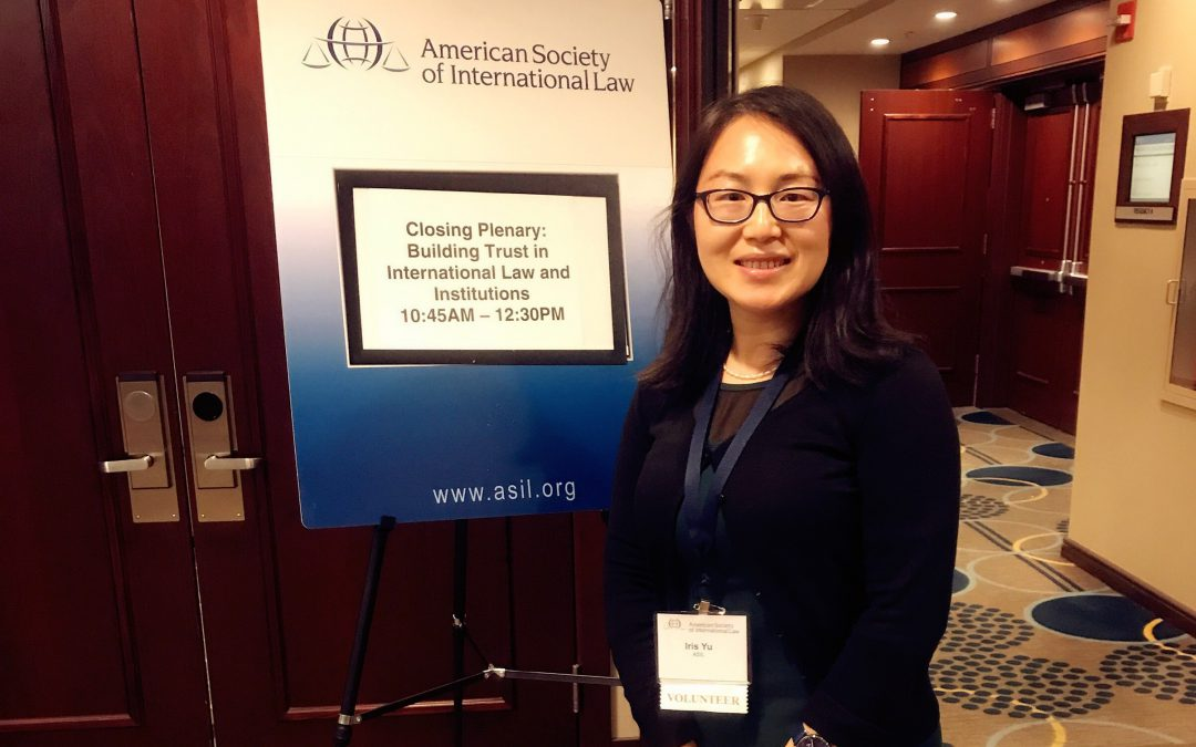 American Society of International Law 2017 Annual Meeting: What International Law Values